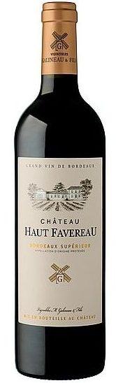 bouteille chateau haut Favereau vignoble Galineau propriétaire récoltant bordeaux