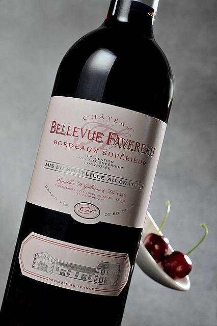 vignoble Galineau propriétaire récoltant bordeaux supérieur rouge chateau bellevue favereau